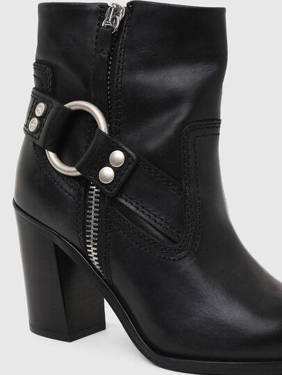 Diesel - D-FLAMINGO ABZ, Black - Ankle Boots - Image 4