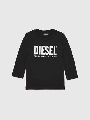 TJUSTLOGOB ML-R, Black - T-shirts and Tops