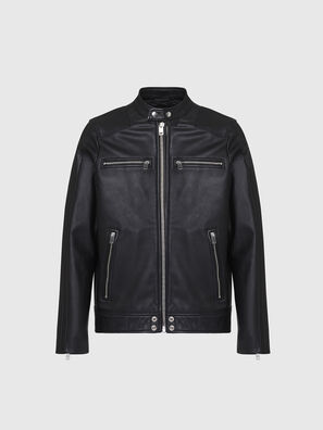 L-BOY, Black - Leather jackets