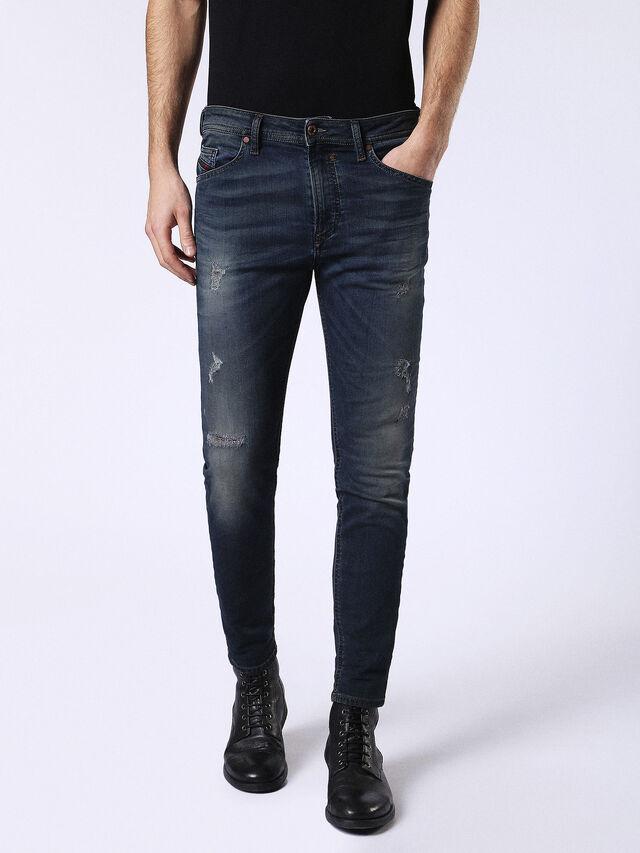 Diesel - Spender JoggJeans 0678L, Dark Blue - Jeans - Image 1