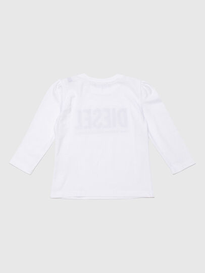 Diesel - TRASSYB, White - T-shirts and Tops - Image 2