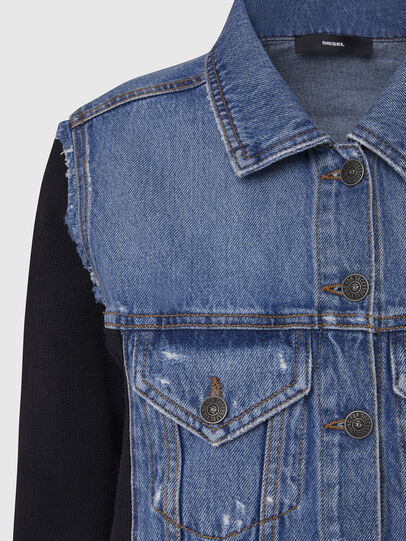 Diesel - M-ROSE, Blue/Black - Jackets - Image 4