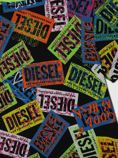Diesel - TAIRB-R, Green/Black - T-shirts and Tops - Image 4