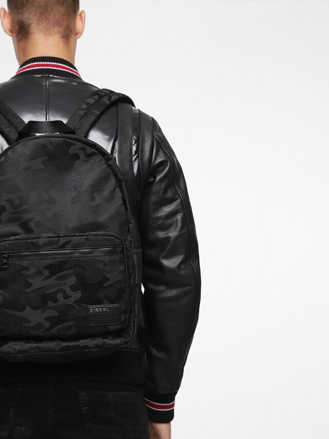Diesel F-DISCOVER BACK, Black - Backpacks - Image 6