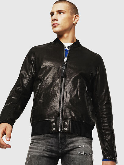 Diesel - L-DAVIDOV,  - Leather jackets - Image 1