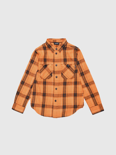 Diesel - COIZE, Orange/Black - Shirts - Image 1