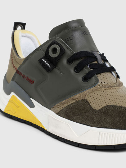 Diesel - S-BRENTHA LC, Military Green - Sneakers - Image 5