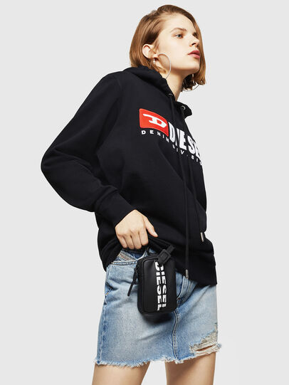 Diesel - F-GIR-HOOD-DIVISION-, Black - Sweaters - Image 4