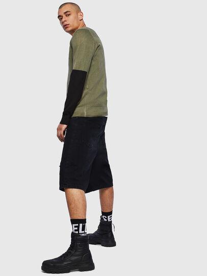 Diesel - K-PACHY, Military Green - Knitwear - Image 4