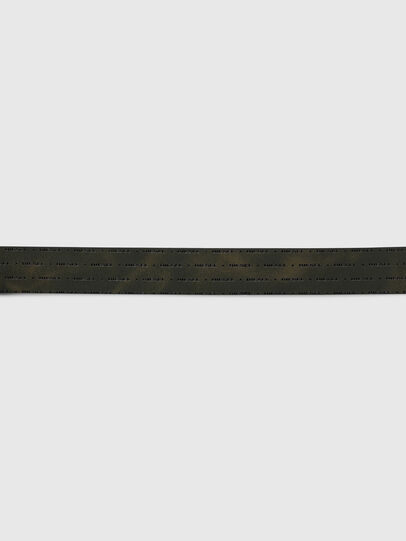 Diesel - B-DOUCKLE, Dark Green - Belts - Image 3