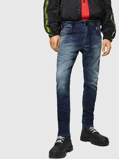 Diesel - Krooley JoggJeans 069HH, Dark Blue - Jeans - Image 1
