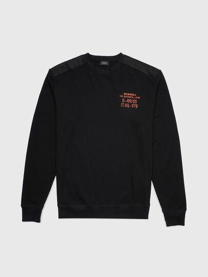 Diesel - UMLT-WILLY-W, Black - Sweaters - Image 1