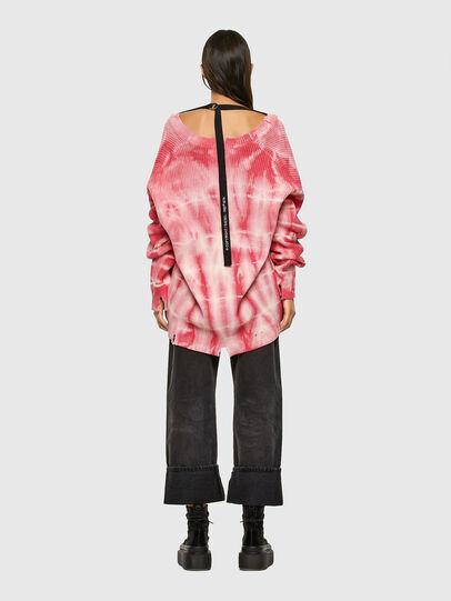Diesel - M-INDIANA, Pink/White - Knitwear - Image 6