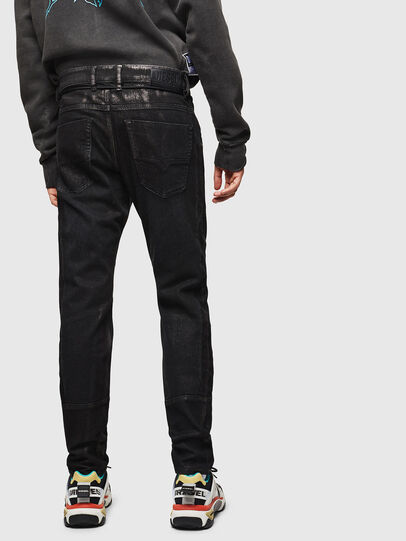 Diesel - D-Luhic JoggJeans 0092W, Black/Dark grey - Jeans - Image 2