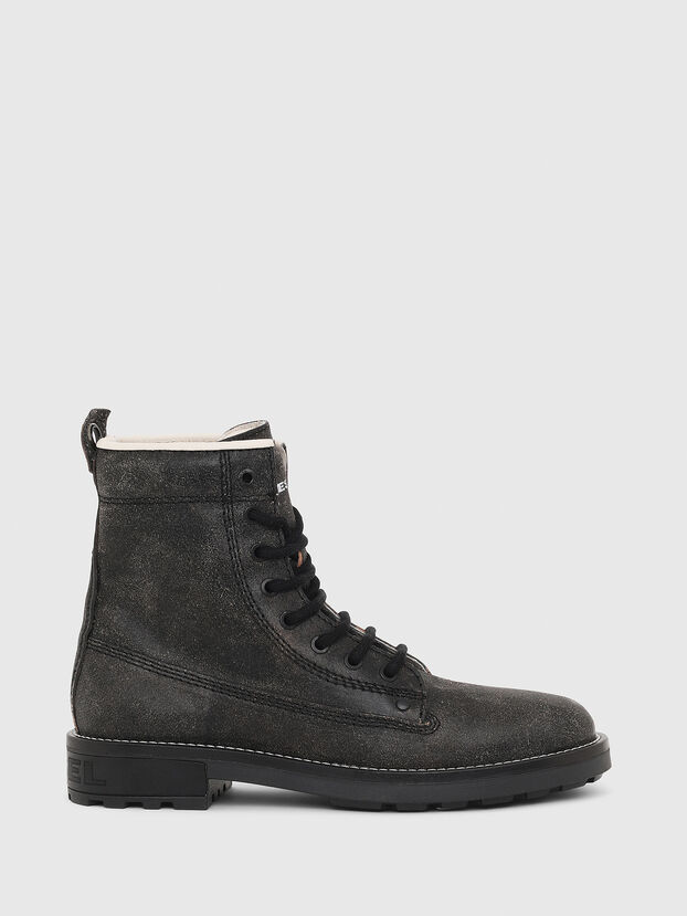 D-THROUPER DBB W, Black - Ankle Boots