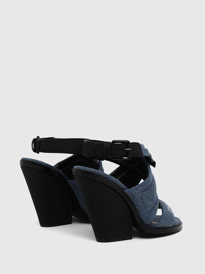 Diesel - SA-FLAMINGO XR, Blue Jeans - Sandals - Image 3
