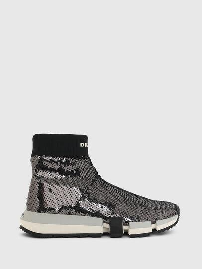 Diesel - H-PADOLA SOCK W, Black - Sneakers - Image 1