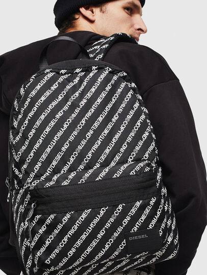 Diesel - MIRANO, Black/White - Backpacks - Image 6