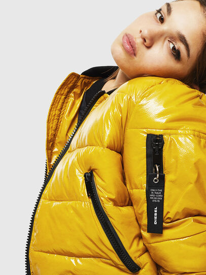 Diesel - W-ONY, Yellow - Winter Jackets - Image 6