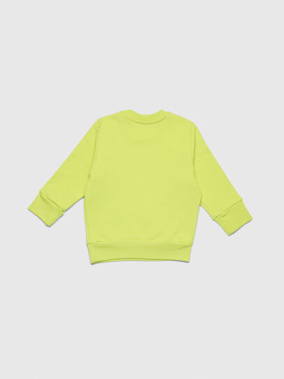 Diesel - SCREWDIVISIONB-R, Yellow Fluo - Sweaters - Image 2