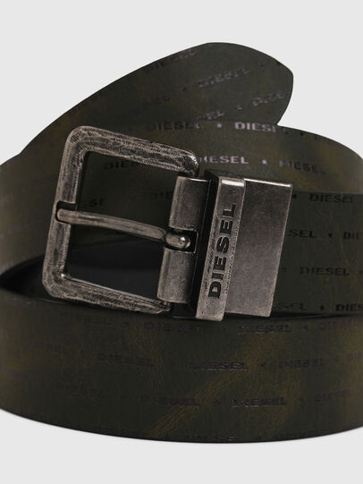 Diesel - B-DOUCKLE, Dark Green - Belts - Image 2