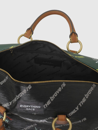 Diesel - TYLEBAG R, Black/Green - Travel Bags - Image 3
