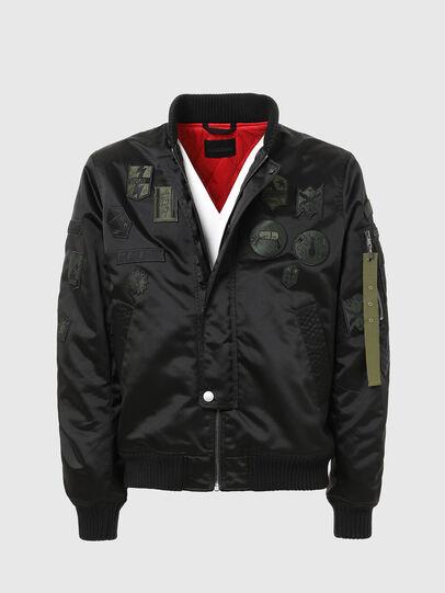Diesel - W-LOVICH, Black - Jackets - Image 2