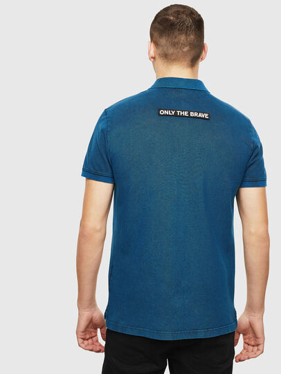 Diesel - T-RANDY-NEW-S3, Blue - Polos - Image 2