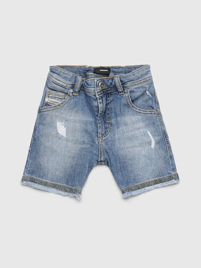 Diesel - PROOLYB-A-N, Light Blue - Shorts - Image 1