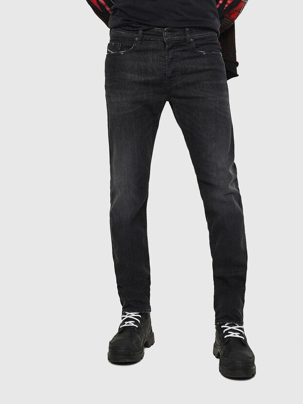 Buster 082AS, Black/Dark grey - Jeans