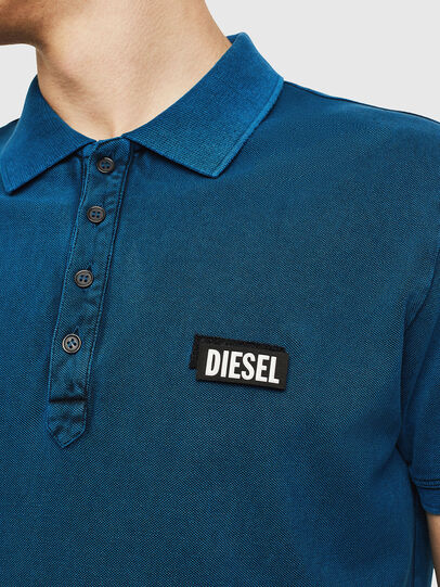 Diesel - T-RANDY-NEW-S3, Blue - Polos - Image 3