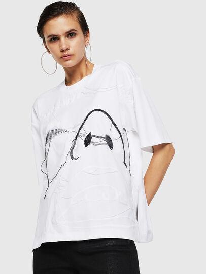 Diesel - TELIX, White - T-Shirts - Image 1