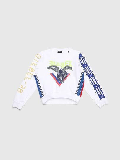 Diesel - SLYANYDY, White - Sweaters - Image 1
