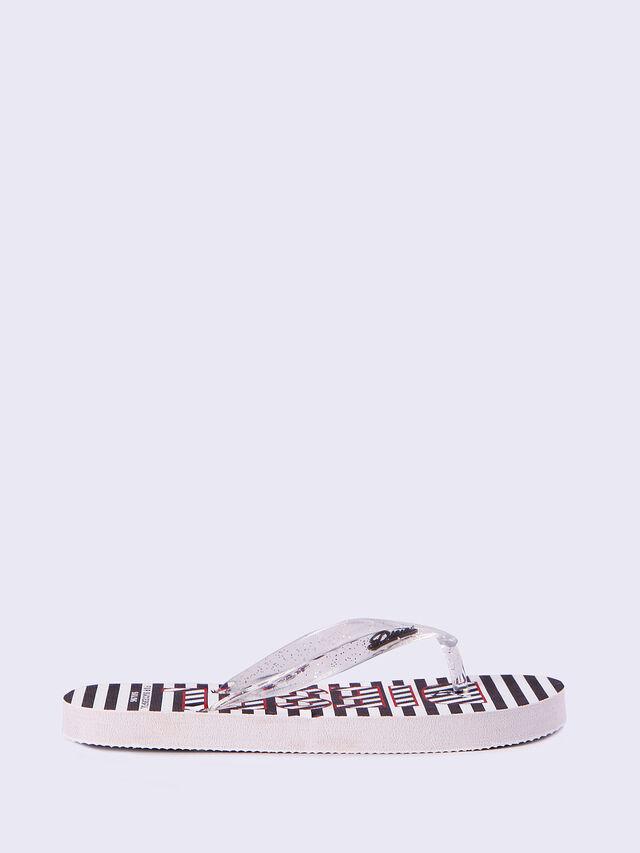 FF 12 STRIPE CH, White/Black