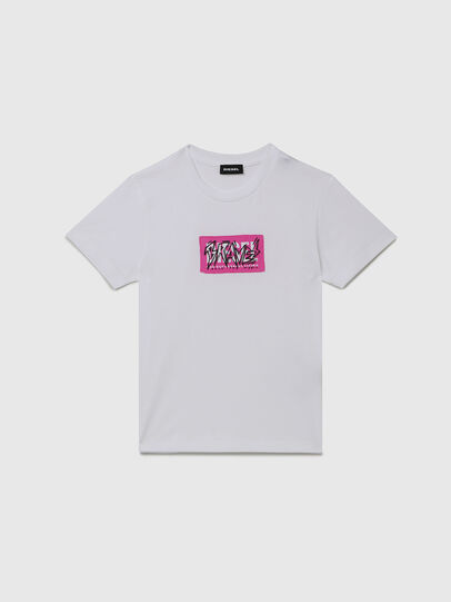 Diesel - TJUSTX62, White - T-shirts and Tops - Image 1