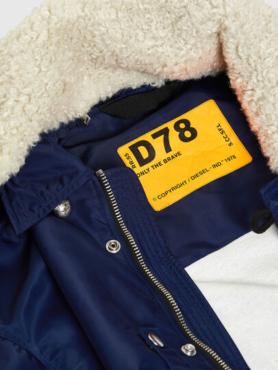 Diesel - J-LEANDER, Blue - Winter Jackets - Image 3