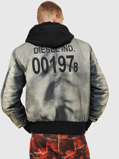 Diesel - J-FOREST, Black - Jackets - Image 2
