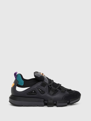 H-PADOLA LOW S, Black - Sneakers