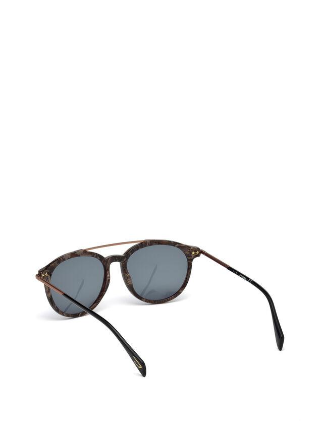 Diesel DM0188, Brown - Eyewear - Image 2