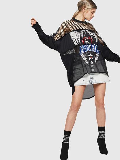 Diesel - F-SANDY-B, Black - Sweaters - Image 5