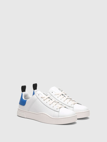 Diesel - S-CLEVER LOW LACE, White/Blue - Sneakers - Image 2