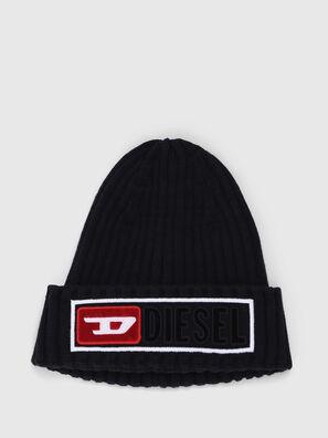 K-CODER-B, Bright Black - Knit caps