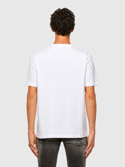 Diesel - T-JUST-X65, White - T-Shirts - Image 5