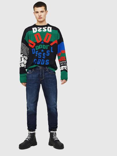 Diesel - Larkee-Beex 082AY, Dark Blue - Jeans - Image 6