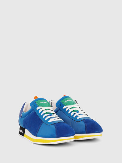 Diesel - S-PYAVE LC, Brilliant Blue - Sneakers - Image 2
