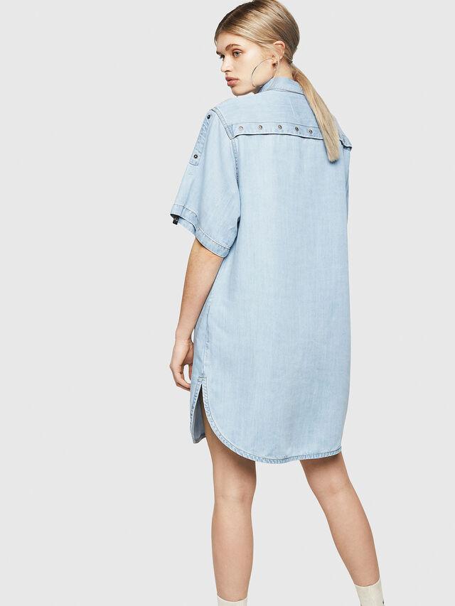 Diesel - DE-SUP-SL, Blue Jeans - Dresses - Image 2