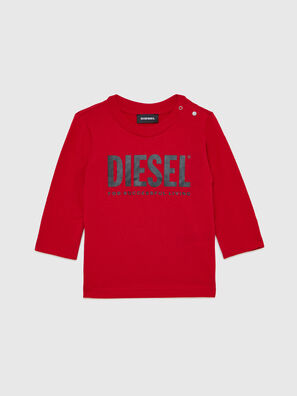 TJUSTLOGOB ML, Red - T-shirts and Tops