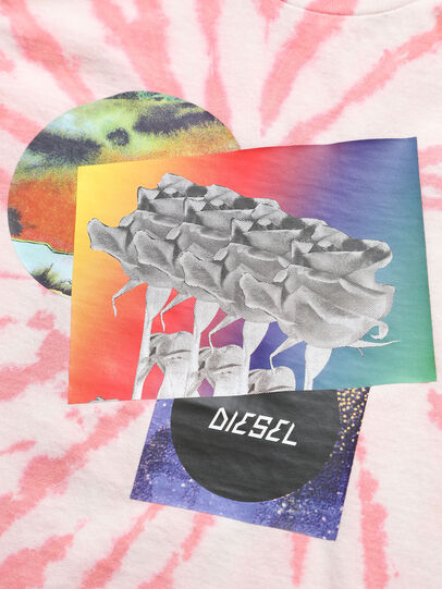 Diesel - TSILYTD, Pink/White - T-shirts and Tops - Image 3