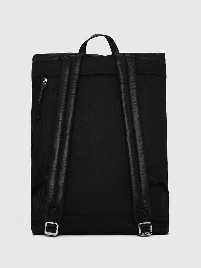 Diesel - L-TOLLE BACK, Black - Shopping and Shoulder Bags - Image 2