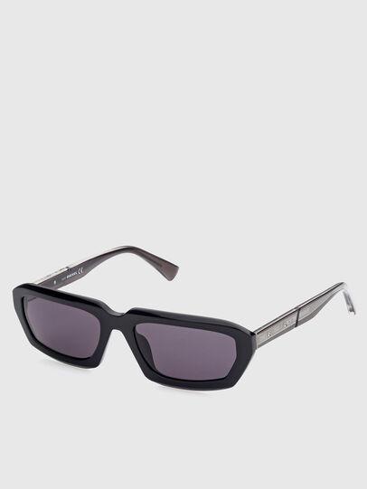 Diesel - DL0347, Black - Sunglasses - Image 2